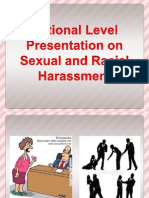 National Level Presentation on Sexual and Racial Harrasment