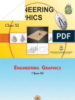 Engineering Graphics Class XI Book