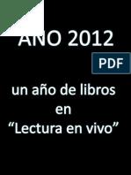Los Libros Del 2012