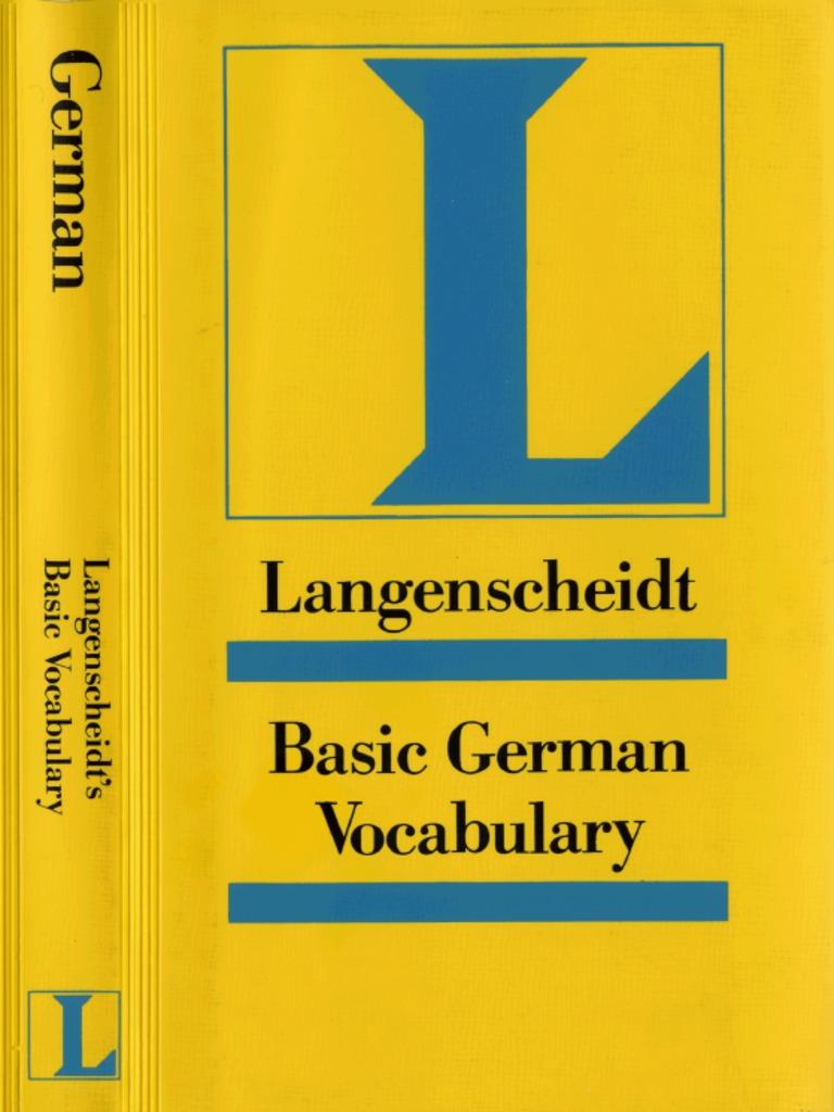 Design f 252 r fingern 228 gel ziehen sie die aufmerksamkeit auf ihre -  Langenscheidt Reference Bock Heiko Basic German Vocabulary Langenscheidt Reference Langenscheidt Publishers 1991