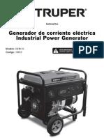 Truper Generador Electrico 5500w 13 Hp