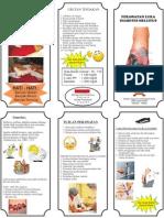Leaflet DM gangrene