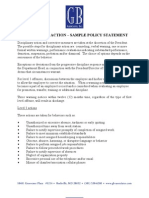04-Disciplinary Action Policy Samples