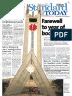 Manila Standard Today -- Monday (December 31, 2012) issue