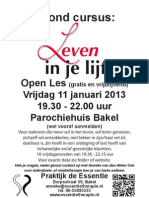 Poster Leven in Je Lijf Januari 2013