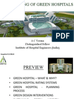 Planning of Green Hospitals
