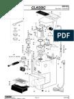 Parts diagram Gaggia Classic
