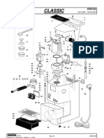 Parts diagram Gaggia Classic