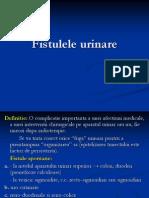 fistulele urinare