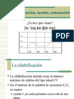 silabificacion