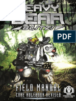 Heavy Gear Blitz Field Manual Core Rulebook Revised
