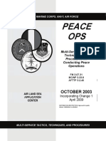 Multiservice Tactics, Techniques, and Procedures for Conducting Peace Operations