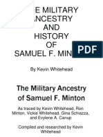 The Military Ancestry of Samuel Minton