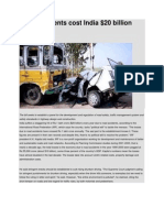 road accidents in india 2009 facts