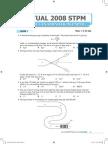 STPM Physics 2008