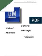 General-Motors-Strategic-Analysis