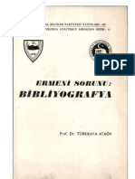 ERMENİ SORUNU - BİBLİYOGRAFYA