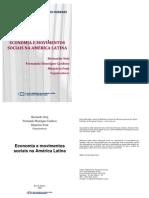 Bernardo Sorj Fernando H Cardoso Mauricio Font Eds Economia e Movimentos Sociais Na America Latina 2008
