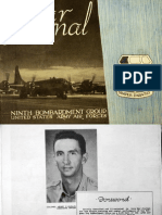 War Journal, Ninth Bombardment Group, U.S. Army Air Forces, 1945