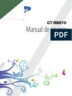 Manual Samsung Galaxy Note 10.1 N8010