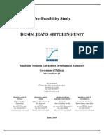 Denim Jeans Stitching Unit New