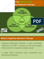 CBT For Better Me - Guide To Cognitive Behavior Therapy - 2012
