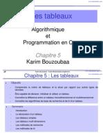 Chapitre5 Tableaux