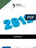 forex magnates 2012 year summary