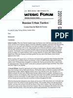 Russian Urban Tactics
