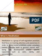 Meditation For Better Me - Using Meditation In Psychology 2012