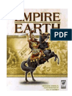 Empire earth Instructional book