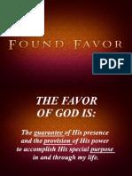 Found Favor Notes