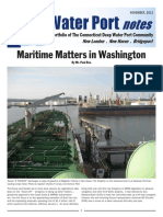 CT Water Port Deepwater Port notes Nov 2012