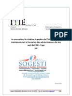 Rapport Site Web ITIE TOGO