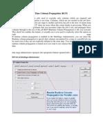 Run Time Column Propagation (RCP)