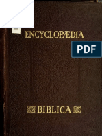 Encyclopædia Biblica - vol. 3/4 L-P