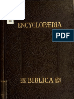 Encyclopædia Biblica - vol. 4/4 Q-Z
