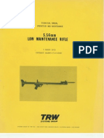 Low Maintenance Rifle 556mm Tech Manual