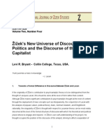 Žižek's New Universe of Discourse: Politics and the Discourse of the Capitalist
