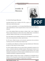 La Vida Controvertida de Jean-Jacques Rousseau.