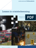 Lessen in Crisisbeheersing - Alphen Ad Rijn