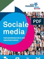 Sociale Media Van en Voor Gemeentebestuurders_2012
