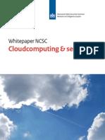NCSC-WhitepaperCloudcomputing