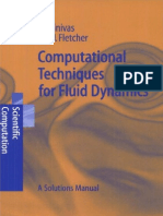 Computational Techniques for Fluid Dynamics - Solutions Manual