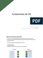 Fundamentos de CSS