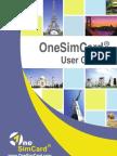 one sim card manual