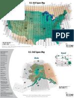 amateur radio grid square map for u.s