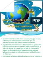 impacto económico del uso eficiente del agua