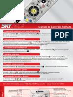 Manual Do Controle Remoto - SKY