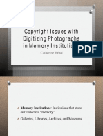 Copyright Issues with Digitizing Photographs in Memory Institutions